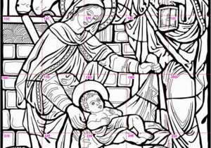 Christmas Nativity Coloring Pages for Adults 1000 Images About Nativity On Pinterest
