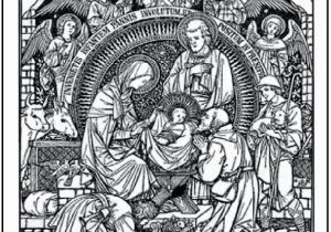 Christmas Nativity Coloring Pages for Adults 15 Printable Christmas Coloring Pages Jesus & Mary