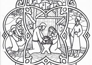 Christmas Nativity Coloring Pages for Adults Christmas Coloring Page Nativity