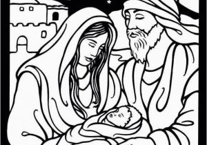 Christmas Nativity Coloring Pages for Adults Christmas