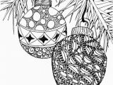 Christmas ornament Coloring Pages for Adults Adult Christmas Coloring Page Christmas Cheer Pinterest
