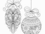 Christmas ornament Coloring Pages for Adults Christmas ornaments Christmas Adult Coloring Pages