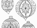 Christmas ornament Coloring Pages for Adults Coloring Worksheets Christmas ornaments New Christmas Balls Coloring