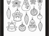 Christmas ornaments Coloring Pages Printable Christmas ornaments Coloring Page • Free Printable Ebook