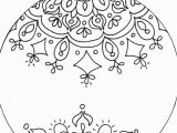 Christmas ornaments Coloring Pages Printable Start Coloring with Diy Network S Able Mandala