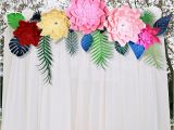 Christmas Party Wall Murals 24 Inches 3d Artificial Paper Flower Wall Sticker Stduio Wedding