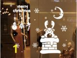 Christmas Party Wall Murals Discount Christmas Window Graphics