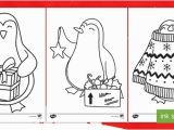 Christmas Penguin Coloring Pages Christmas Penguin Colouring Pages Ks1 Key Stage E