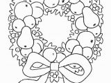Christmas Reef Coloring Pages Wreath Coloring Page Elegant Wreath Coloring Page Inspirational