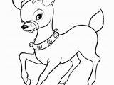 Christmas Reindeer Coloring Pages Santa S Reindeer Page Santa S Reindeer with Sleigh Bells