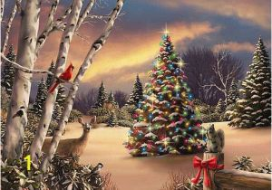 Christmas Scene Wall Murals Beautiful Snow Scenes at Christmas