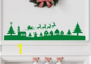 Christmas Scene Wall Murals Christmas Wall Art Stickers From Smarty Walls