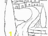 Christmas town Coloring Pages Coloring Page Bible Christmas Story Bible Christmas Story On Kids N