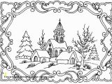 Christmas town Coloring Pages Graffitiraw Wp Content 2018 09 Free Pr