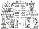Christmas town Coloring Pages town Coloring Page Christmas Village Art to Color Courtoisieng