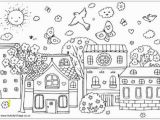 Christmas town Coloring Pages town Coloring Page Spring Coloring Sheets 10 Places to Get Free
