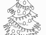 Christmas Tree Coloring Page Printable Printable Christmas Tree Coloring Pages New Christmas Tree Cut Out