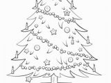 Christmas Tree ornament Coloring Pages Christmas Tree Coloring Page for toddlers Cool Coloring Page Unique