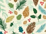 Christmas Wall Murals Uk Free Christmas Wallpaper Love How It Has Pine Cones