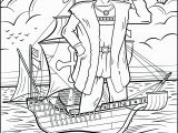 Christopher Columbus Coloring Page Engage Younger Kids with Columbus Day with Printable Coloring Pages