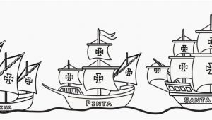 Christopher Columbus Three Ships Coloring Pages Beautiful Wonderful Christopher Columbus Coloring Page S 4954 Unknown