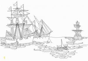 Christopher Columbus Three Ships Coloring Pages Christopher Columbus Coloring Page Coloring Chrsistmas