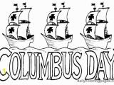 Christopher Columbus Three Ships Coloring Pages Columbus Day Printables for Kids
