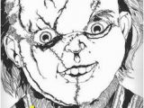 Chucky and Tiffany Coloring Pages 14 Best Adult Coloring Images