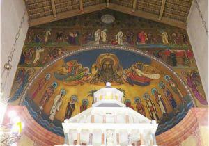 Church Baptistry Murals Beautiful Mural by Artist Carlo Wostry St andrews Church 26 Jul