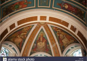 Church Baptistry Murals Mural Painting Window Church St Stock S & Mural Painting Window