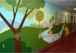 Church Nursery Murals 66 Best Church Wall Images
