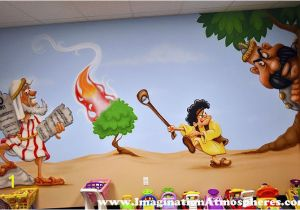 Church Nursery Murals Bible Story Church Murals Mural Inspiration