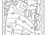 Cinco De Mayo Pinata Coloring Pages Mexican Colouring Mexico Coloring Pages Best Fiesta