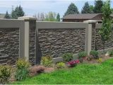 Cinder Block Wall Murals Residential Concrete Fence Walls