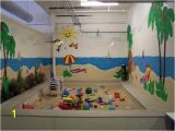 Cinder Block Wall Murals This Was A Large Beach theme Room for A Local Preschool the