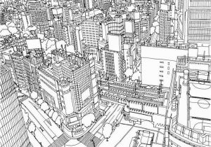 City Coloring Pages for Adults Highly Detailed Coloring Book for Adults Features Famous World
