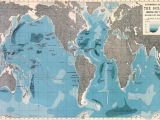 City Map Wall Mural Ocean Map Wallpaper