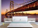 City Scene Wall Murals Bridge Wallpaper Bridge Wall Mural San Francisco Wallpaper San Francisco Wall Mural Bridge Wall Mural Bridge Wall Decal Sf Wallpaper