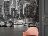 City Skyline Murals Wallpaper New York Manhattan Skyline Wallpaper Mural Photo Giant Wall Poster