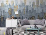 Cityscape Wall Mural Wallpaper City Wallpaper Modern Simple City Wall Mural Architecture