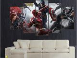 Civil War Wall Murals 2019 Captain America Civil War Concept Hd Canvas Printing New Home Decoration Art Painting Unframed Framed From Lijingyouhua $15 38