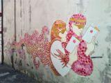 Civil War Wall Murals View Of Ukiyo E Between Pop Art and Trans Cultural