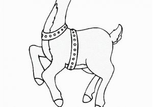 Clarice the Reindeer Coloring Page 21 Clarice the Reindeer Coloring Page
