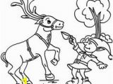 Clarice the Reindeer Coloring Page 25 Best Christmas Coloring Pages Images