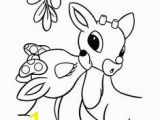 Clarice the Reindeer Coloring Page 795 Best Holiday Coloring Pages Images On Pinterest In 2018