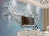 Classic Art Wall Murals Custom Wallpaper European Style Classical Oil Painting Little Angel 3d Stereoscopic Living Room Wall Mural Decor Wallpaper Hq Hd Wallpapers Hq