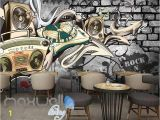 Classic Art Wall Murals Dj Music Mix Speaker Design Art Wall Murals Wallpaper Decals Prints Decor Idcwp Jb