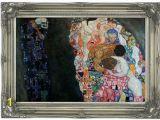 Classic Art Wall Murals Klimt Death and Life