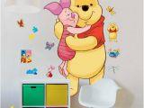 Classic Pooh Wall Mural Wandsticker Disney Winnie Pooh Xxl