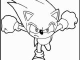 Classic sonic the Hedgehog Coloring Pages sonic Running Printable Coloring Picture for Kids